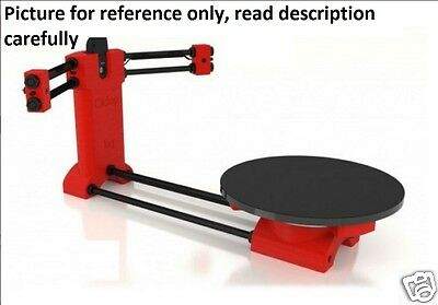 BQ Ciclop DIY 3D Scanner for 3d printer,without printed parts and long screw set