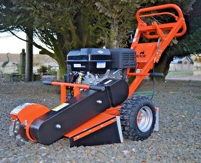 Rock Machinery garden stump grinder 13 hp briggs and stratton
