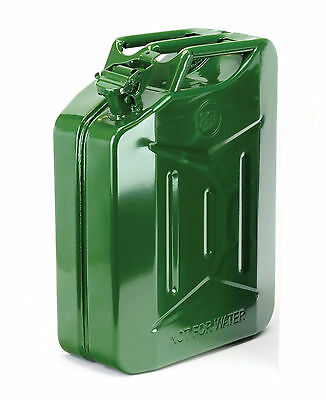 Large Jerry Can 20 Litre Fuel Storage Can Petrol / Diesel Can Heavy Duty Metal
