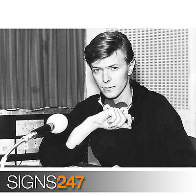 DAVID BOWIE YOUNG (1136) Photo Picture Poster Print Art A0 A1 A2 A3 A4