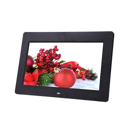 10.1 LCD HD Electronic Digital Photo Frame Picture Photography MP4 Player BLK GL