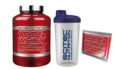 SCITEC NUTRITION 100% Whey protein professional 2350gr + shaker + 2 campioncini