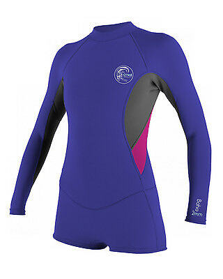 O'Neill Bahia Ladies 2mm Spring Suit in Colbolt Blue - On Sale Now