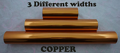 Copper Toner Foil Craft Cards Laser Printer Heat Transfer Laminator Hot Foil