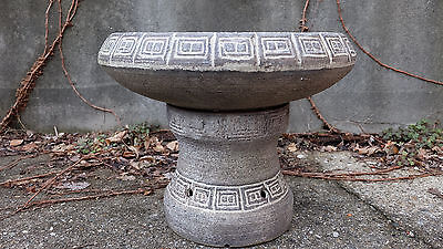 Mid Century Modern Pottery Planter or Fountain