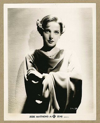Jessie Matthews Circa 1936 Original Photo