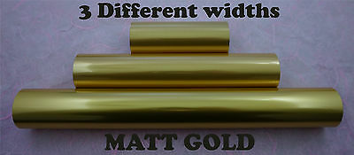 Matt Gold Toner Foil Craft Cards Laser Printer Heat Transfer Laminator Hot Foil