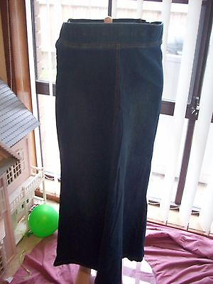 Maternity Plus Denim Skirt Size 14