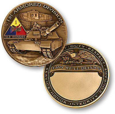 U.S. Army / 1st Armored Division - Challenge Coin
