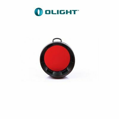 Olight TPU HOUSING RED FILTER GLASS FOR TORCH 23MM INNER DIAMETER FM10-R V2