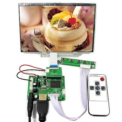 7inch 1280x800 690cd IPS LCD HSD070PWW1 with HDMI board for Raspberry Pi