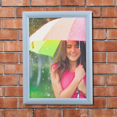Waterproof retail sign snap frame outdoors poster holder clip display