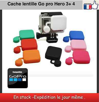 Cache lentille protection Go pro Hero 3+ 4 lens cover