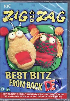 Zig And Zag Best Bitz From Back In The Den DVD Irish Comedy