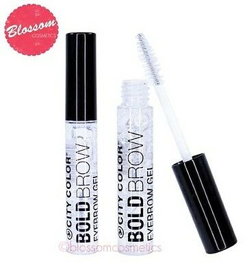City Color Bold Brow CLEAR EYEBROW GEL SHAPING MASCARA Styling Gel NEW