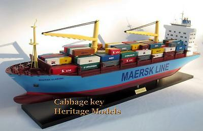 Maersk Alabama, Famed Container Ship, Wooden model , fully built Beauty 36""