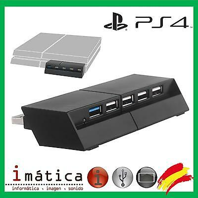 Hub Usb 5 Puertos Para Sony Play Station 4 Ps4 Port Puerto Puertos 3.0 2.0