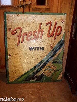 1950's  7UP    SIGN