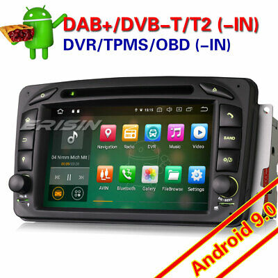 "7"" Autorradio Mercedes Benz C-Class W203 CLK W209 M/ML GPS 3G SWC DVR TDT 7507GS"