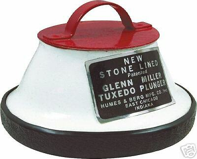 Humes & Berg 105 Trumpet Plunger Mute (Tuxedo Plunger)