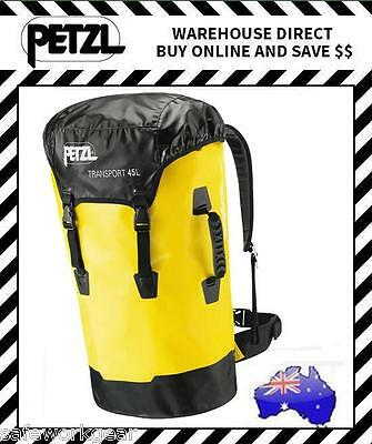 Petzl 45L Transport Pack Rope Bag PVC Free Waterproof Rope Access