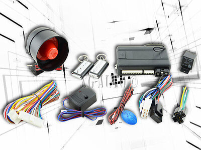 High Security Car Alarm System Kits W/ 2 Keyless Engine Start Remote For Ford