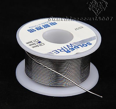 100g 1mm Rosin Core Weldring 63/37 Tin Lead Industrial Soldering Solder Wire