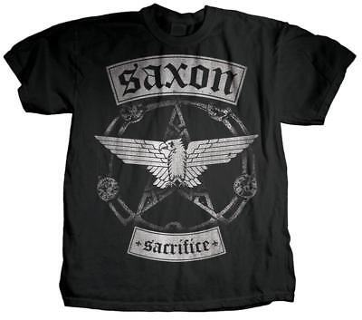 Saxon - Sacrifice T-Shirt Black New Shirt Tee