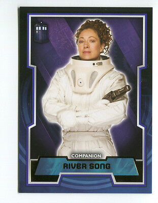 2015 Topps Doctor Who Trading Cards GOLD Parallel River Song #41