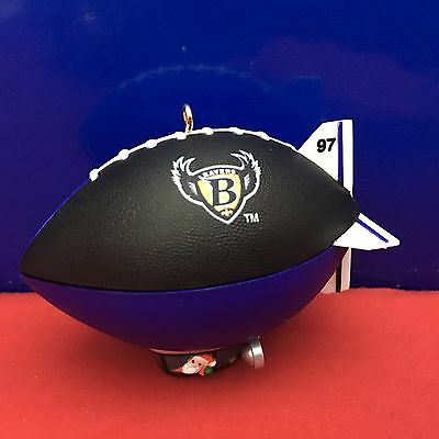 Hallmark Ornament NFL Collection Baltimore Ravens 1997 NEW