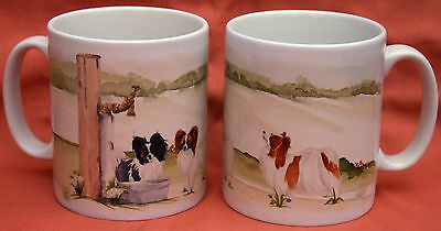 Papillon Dog Mug Off To The Dog Show Painting Sandra Coen Artist Print