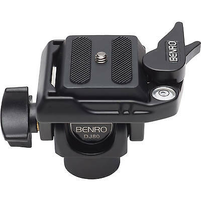 Benro DJ80 DJ series Monopod head with quick release plate PH08