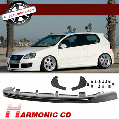Fit For 05-10 Vw Golf 5 Gti Vortex Style Front Bumper Lip Urethane