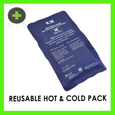 Hot & Cold Reusable  Packs with Cover 29x12cm  x2   (microwave or freezer)