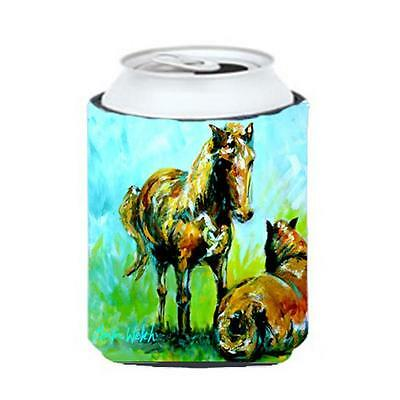 Carolines Treasures MW1126CC Horse Grazin Can Or Bottle Hugger