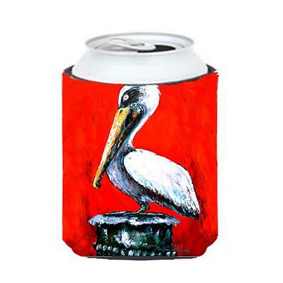 Carolines Treasures MW1133CC Bird Pelican Red Dawn Can Or Bottle Hugger