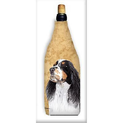 Carolines Treasures SC9134WINEBOTTLE Springer Spaniel Wine Bottle Hugger