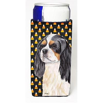 Cavalier Spaniel Tricolor Candy Corn Halloween Portrait Michelob Ultra s For ...