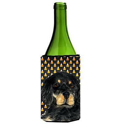 Gordon Setter Candy Corn Halloween Portrait Wine Bottle Hugger 24 oz.