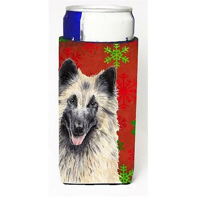 Belgian Tervuren Red & Green Snowflakes Holiday Christmas Michelob Ultra s Fo...