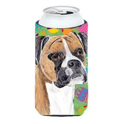 Carolines Treasures Boxer Easter Eggtravaganza Tall Boy Hugger 22 To 24 oz.