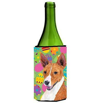 Carolines Treasures Basenji Easter Eggtravaganza Wine Bottle Hugger 24 oz.