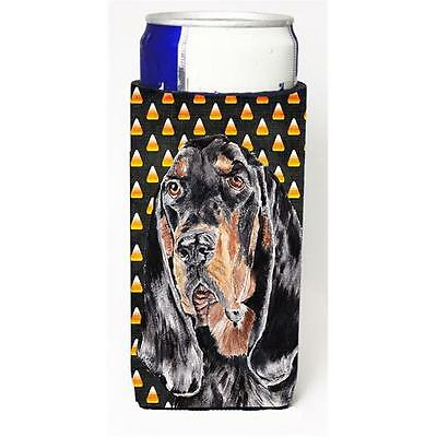 Coonhound Halloween Candy Corn Michelob Ultra bottle sleeve for Slim Can