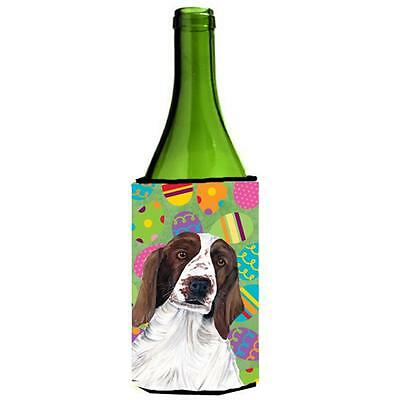 Welsh Springer Spaniel Easter Eggtravaganza Wine Bottle Hugger 24 oz.