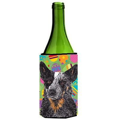 Carolines Treasures Australian Cattle Dog Easter Wine Bottle Hugger 24 oz.