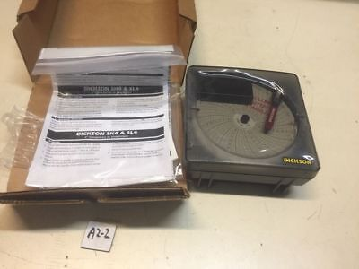 "New Dickson 4"" Temperature Chart Recorder SK4350 -22-122F Warranty Fast Shipping"