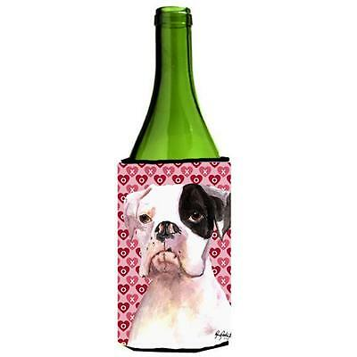 Cooper Love and Hearts Boxer Wine bottle sleeve Hugger 24 oz.