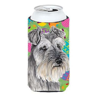 Carolines Treasures Schnauzer Easter Eggtravaganza Tall Boy Hugger 22 To 24 oz.