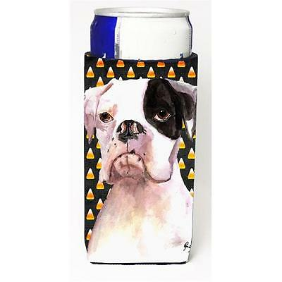 Cooper Candy Corn Boxer Halloween Michelob Ultra bottle sleeves for slim cans...