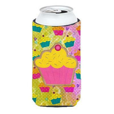 Carolines Treasures SB3003TBC Cupcake Tall Boy bottle sleeve Hugger 22 To 24 oz.
